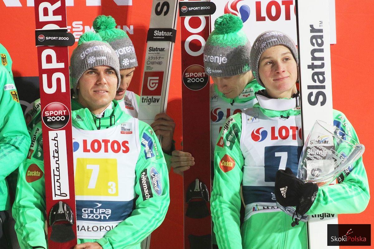 Słoweńscy skoczkowie (fot. Julia Piątkowska)