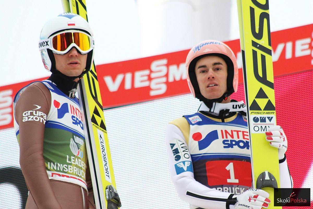 Kamil Stoch i Stefan Kraft, fot. Julia Piątkowska