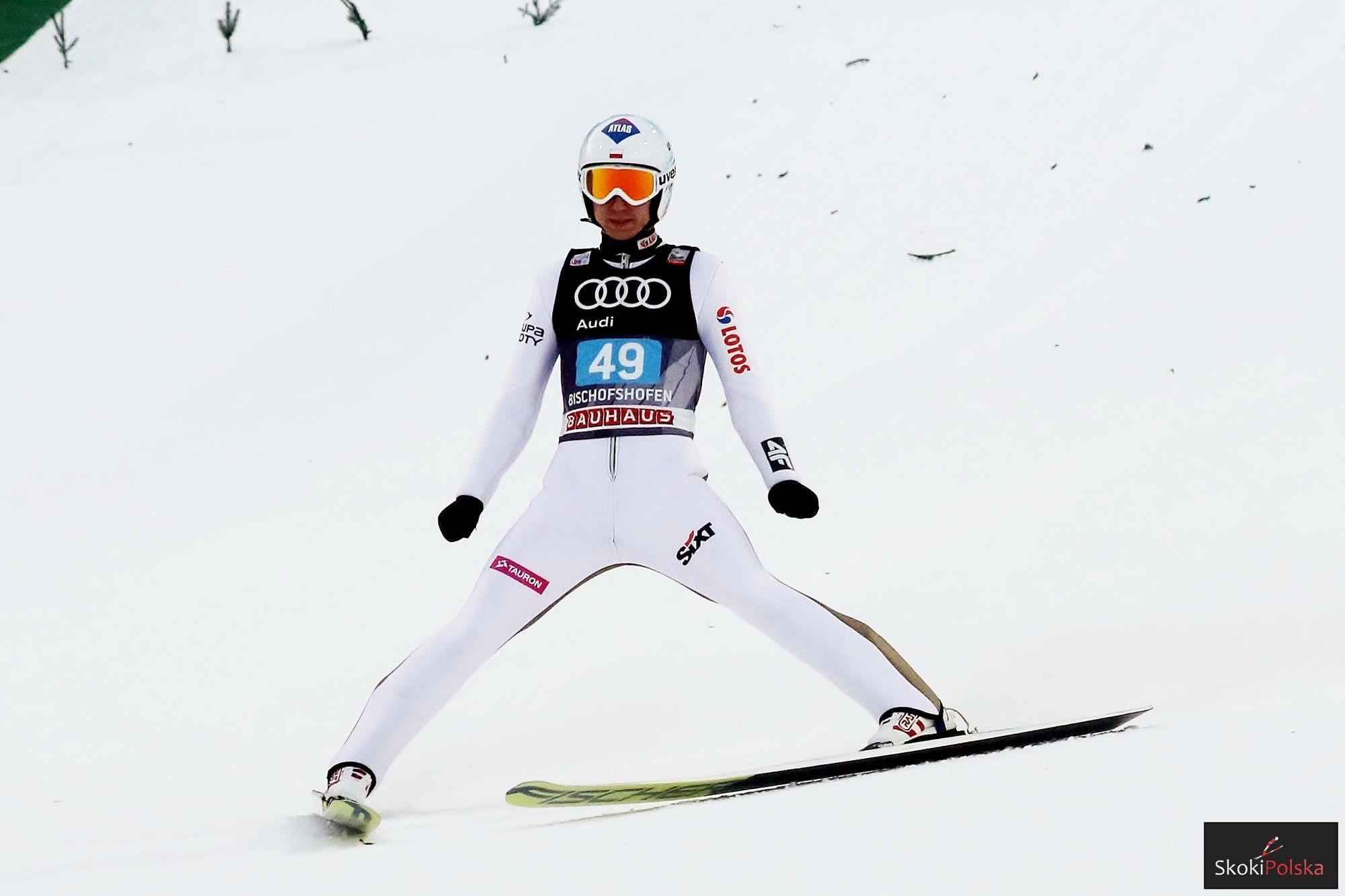 TCS Bischofshofen: Kamil Stoch najlepszy w serii próbnej!