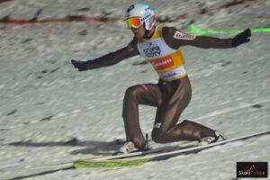 Stoch Kamil WC.Wisla .2017 telemark fot.Bartosz.Leja  300x200 - PŚ PyeongChang: Kraft liderem z rekordem skoczni, Stoch czwarty