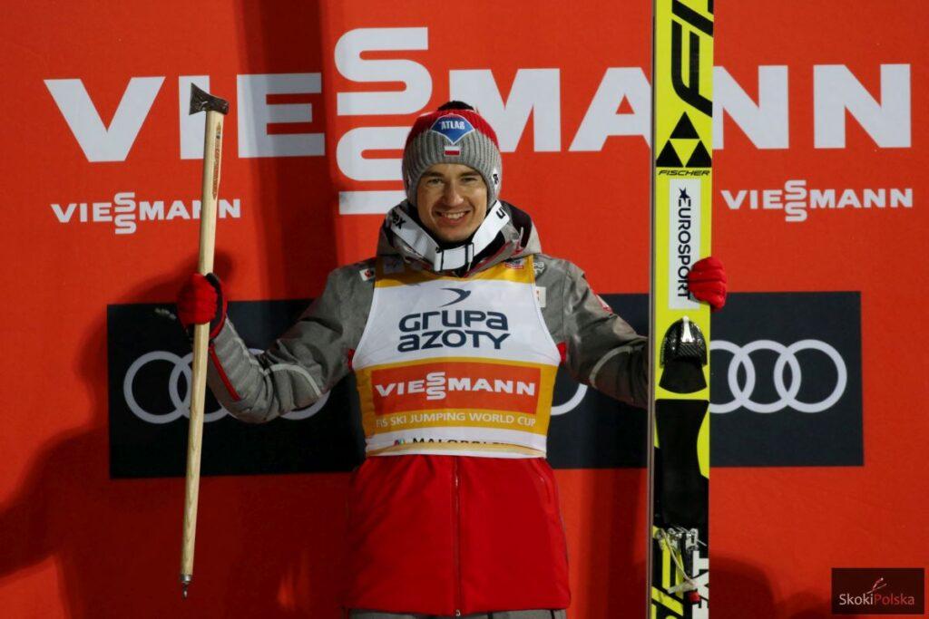 """Kamil Stoch: """"Nie muszę wygrywać za każdym razem, chcę cieszyć się skokami"""""""