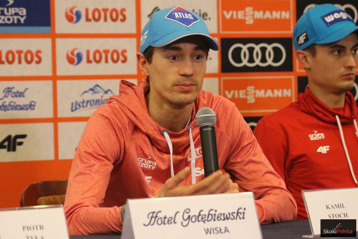 """Kamil Stoch: """"Odczuwam lekki ból w kolanie"""""""