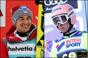 Kamil Stoch i Stefan Kraft (fot. Julia Piątkowska)