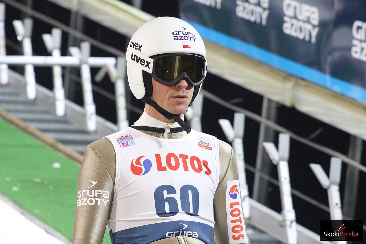 """Piotr Żyła: """"Będę się koncentrować na tym co ważne, żeby zapiąć narty"""""""