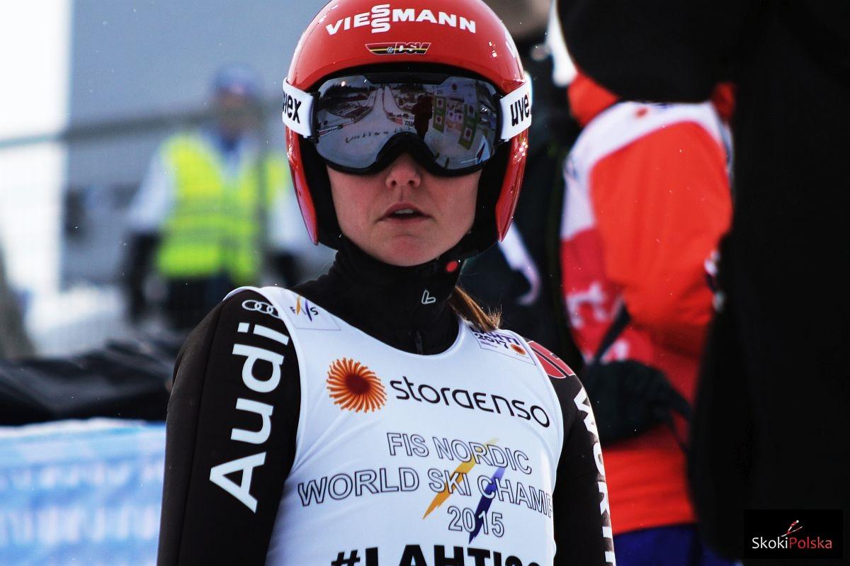 Carina Vogt WSC.Lahti .2017 fot.Julia .Piatkowska - MŚ Lahti: Carina Vogt przed Japonkami w serii próbnej