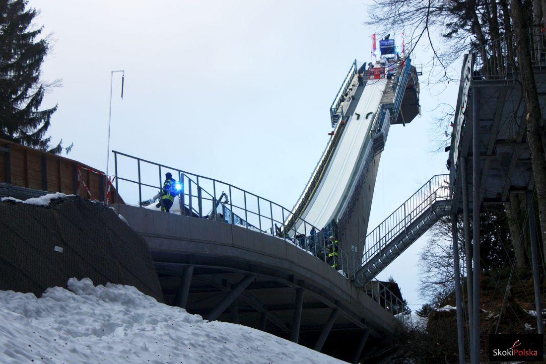 Lewandowski, trunki i papierowy samolot, czyli weekend w Oberstdorfie