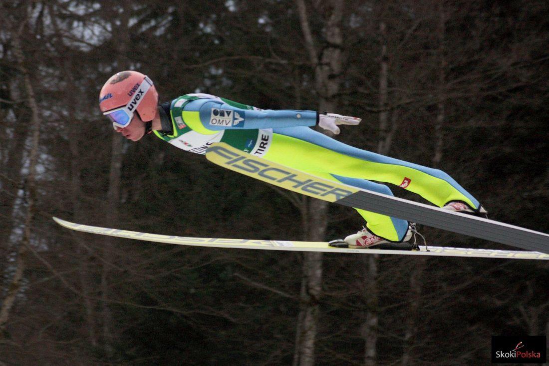 """Kraft rozgoryczony po upadku w Engelbergu, Hoerl po podium: """"Wypiję kilka piw"""""""
