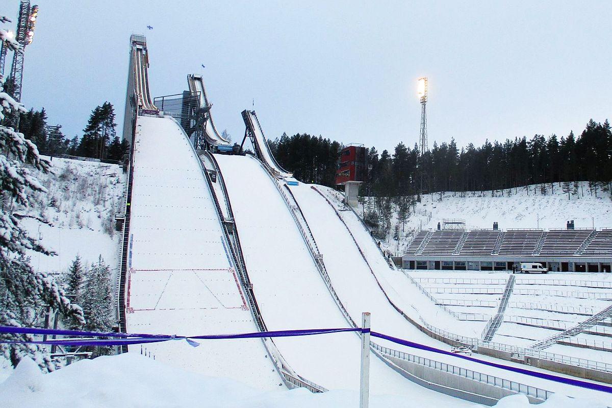 Skocznie w Lahti (fot. Tuija Hankkila)
