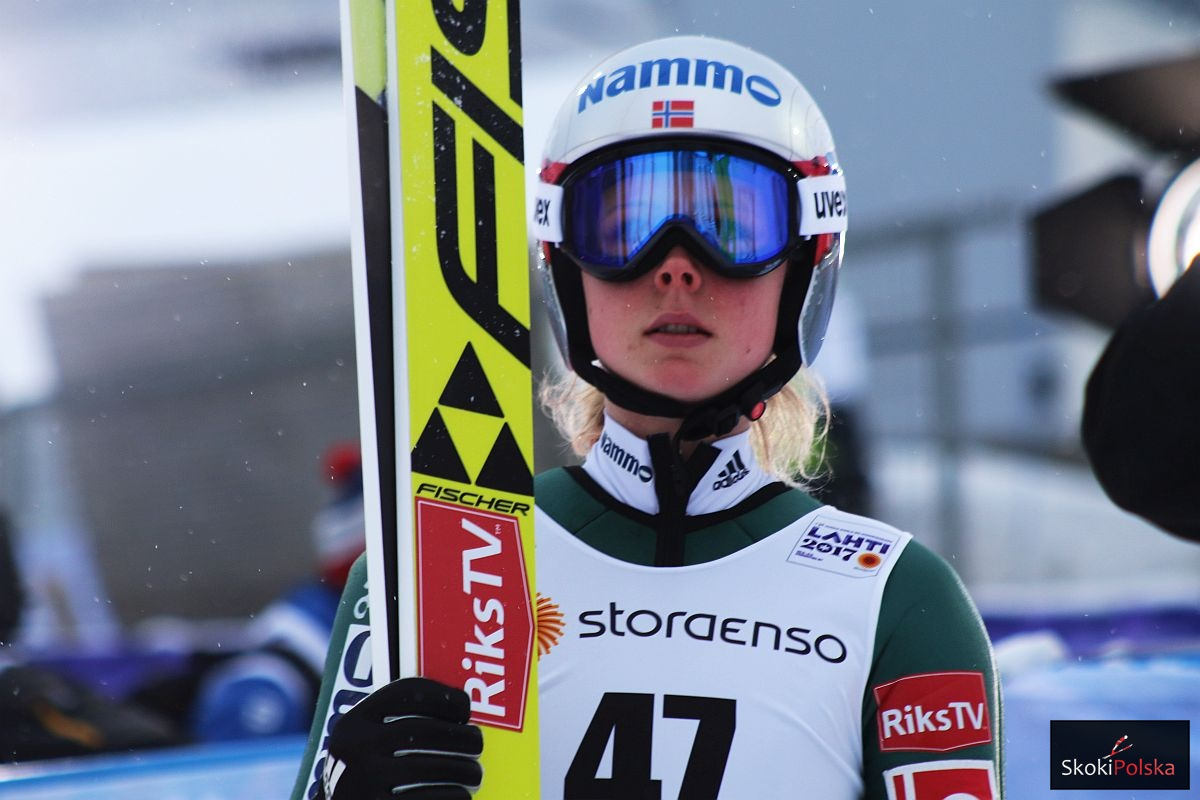 PŚ Pań Lillehammer: Treningi dla Takanashi i Lundby