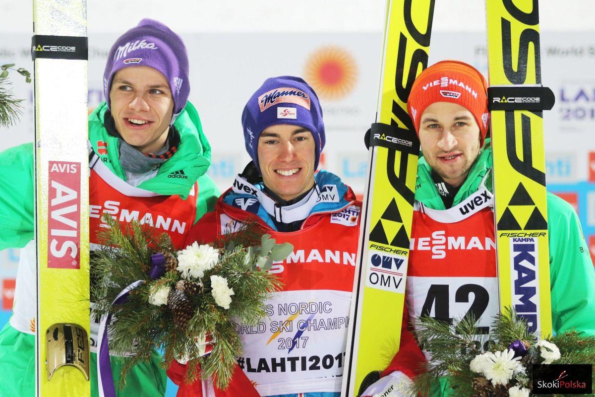MŚ Lahti: Stefan Kraft ze złotem, polscy skoczkowie tuż za podium!
