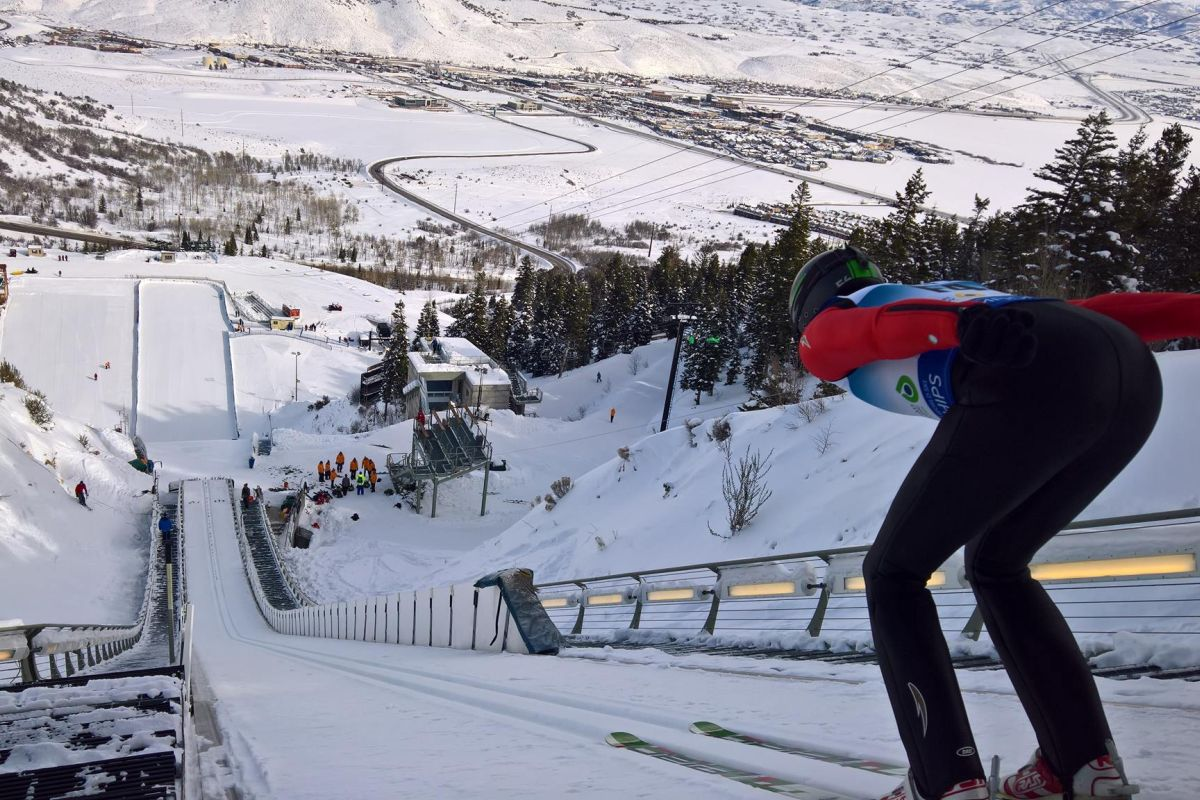 Park City - 'Utah Olympic Park' (fot. Renata Nadarkiewicz)