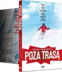 """Rafal.Urbanelis Poza.Trasa .ksiazka Wydawnictwo.SQN2  260x300 - """"Poza trasą"""" - porywająca opowieść o pasji do narciarstwa z naszym patronatem!"""
