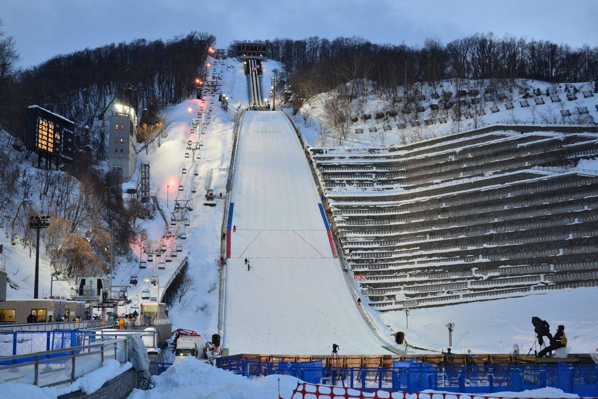 Czy zawody w Sapporo zostaną odwołane? (fot. Przemek Wardęga)