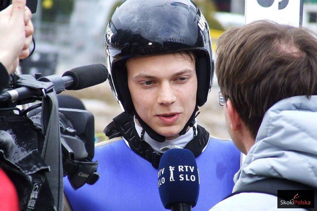 Testy skoczni w Planicy: 231 metrów Blaza Pavlica