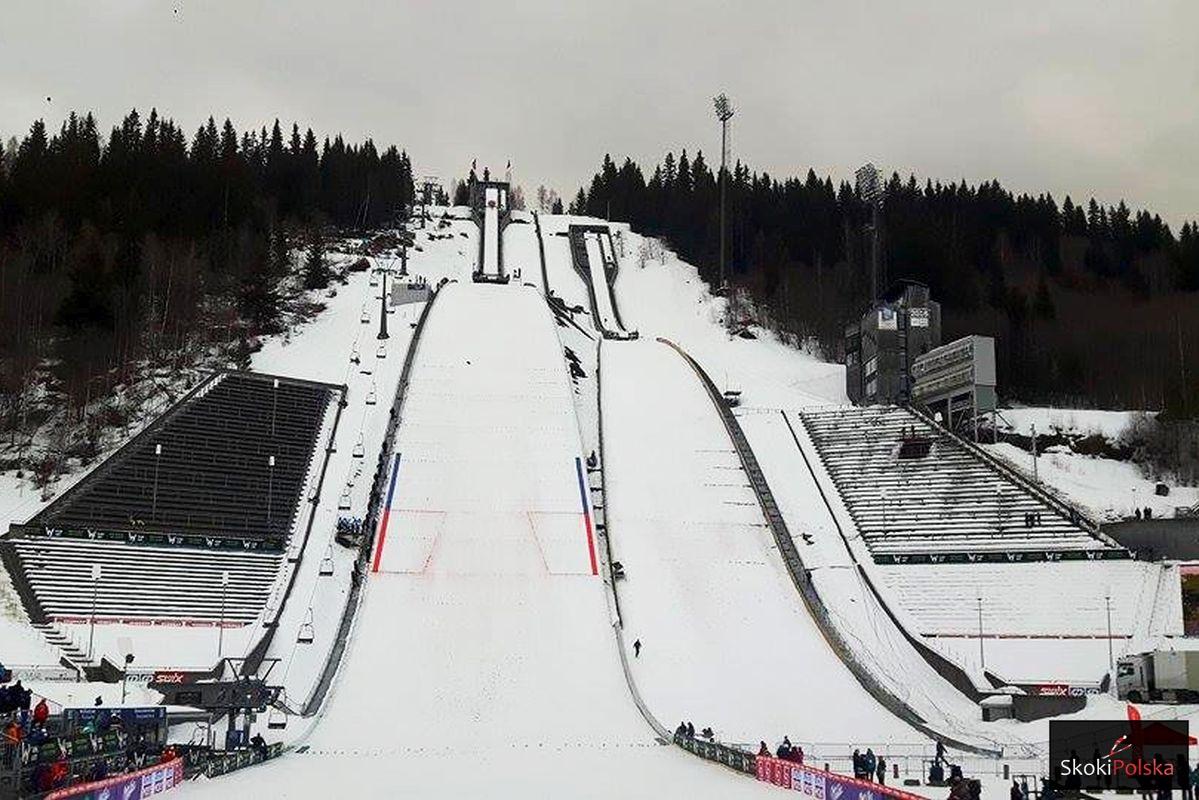 Kompleks skoczni 'Lysgaardsbakken' w Lillehammer (fot. Maria Grzywa)