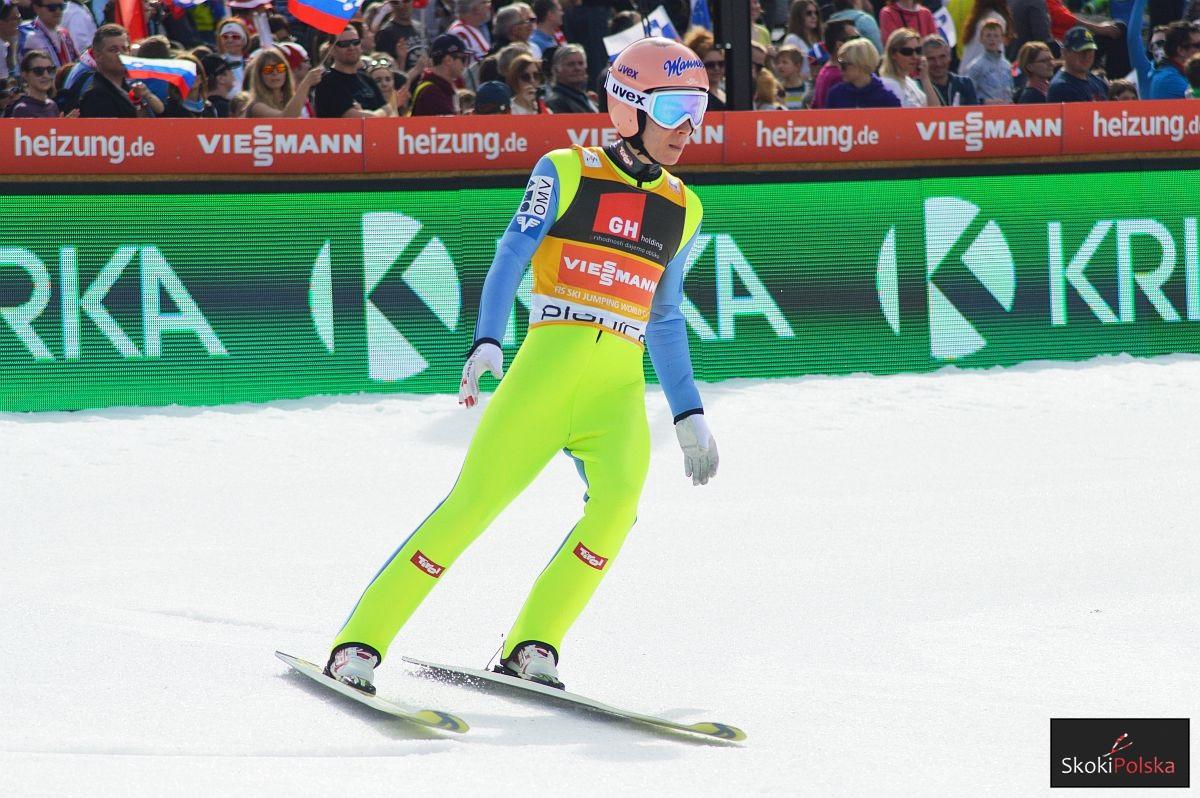 Stefan Kraft Planica.2017 fot.Adrian.Kyc  - PŚ Planica: Kraft przed Stochem, świetny skok Austriaka