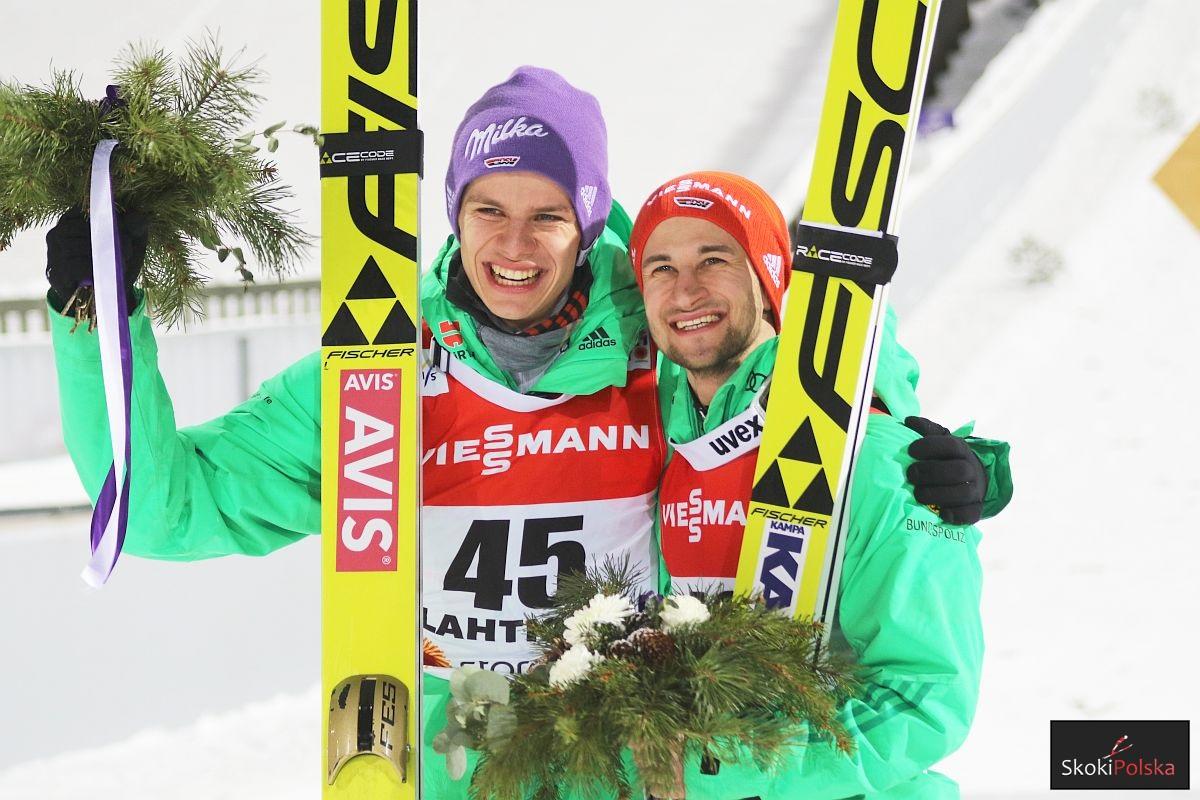 Andreas Wellinger i Markus Eisenbichler (fot. Julia Piątkowska)