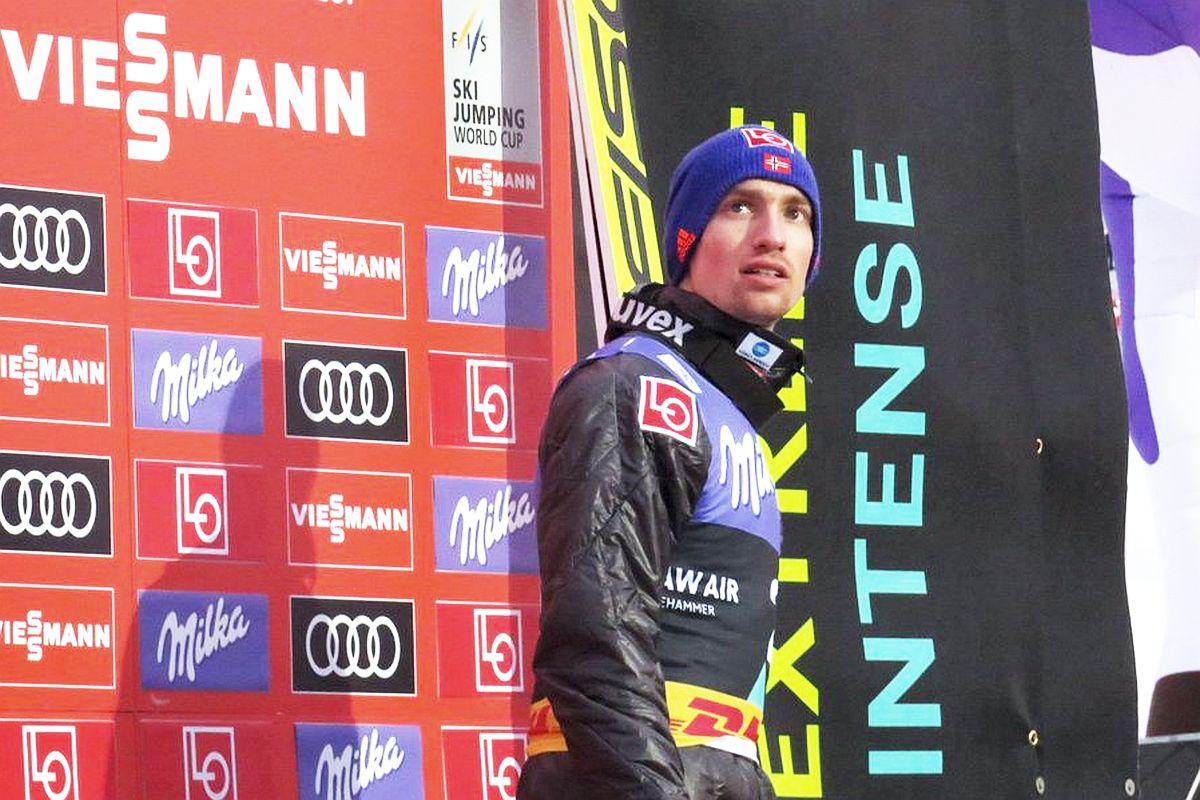 Joakim Aune (fot. Twitter.com/wclhmr / Nordic Lillehammer)