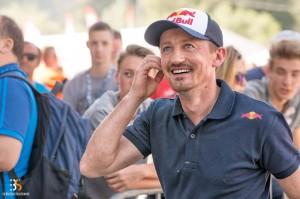 Adam Małysz - jeden z wielkich triumfatorów w Courchevel (fot. Martyna Osuchowska / Behind the Sport)