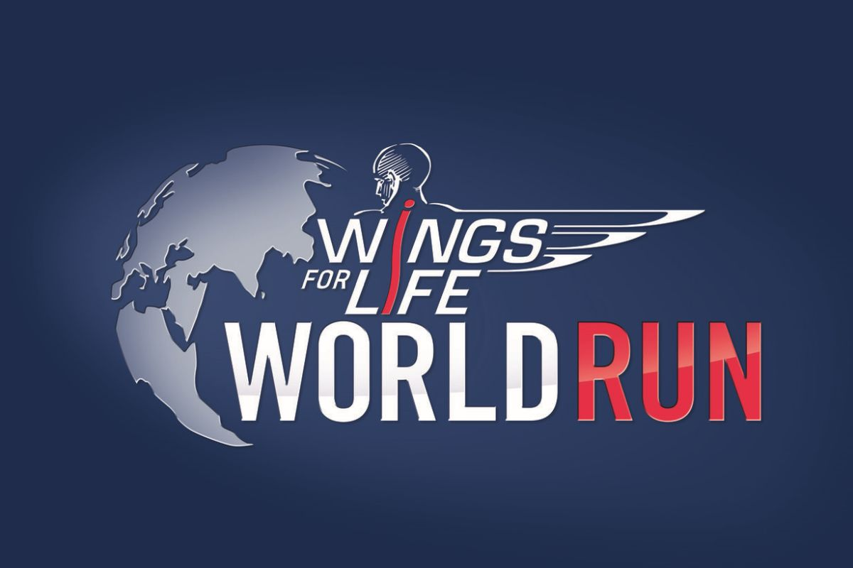 "Logo biegu ""Wings for Life World Run"""