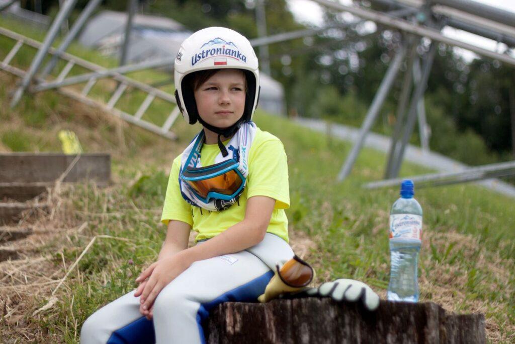 Tymek Cienciała wygrał inaugurację Turnieju Czterech Skoczni dla Dzieci! (FOTO)