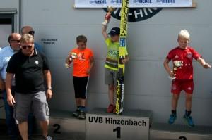 Tymoteusz Cienciała wygrywa w Hinzenbach (fot. Andrzej Cienciała)