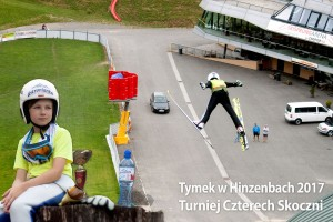 Tymoteusz Cienciała w Hinzenbach (fot. Andrzej Cienciała)