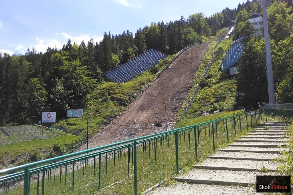 Trwa przebudowa Wielkiej Krokwi w Zakopanem (FOTORELACJA)