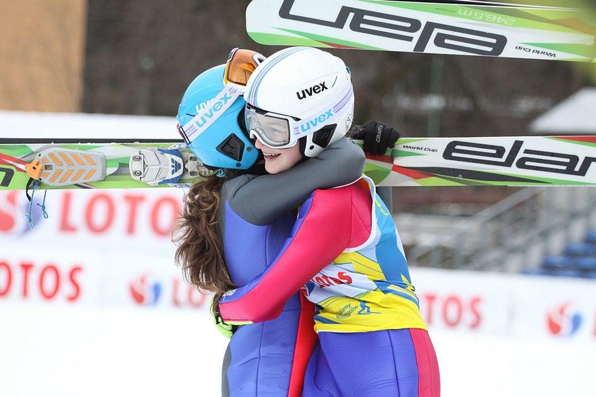 Kamila Karpiel i Kinga Rajda (fot. Alicja Kosman / PZN)