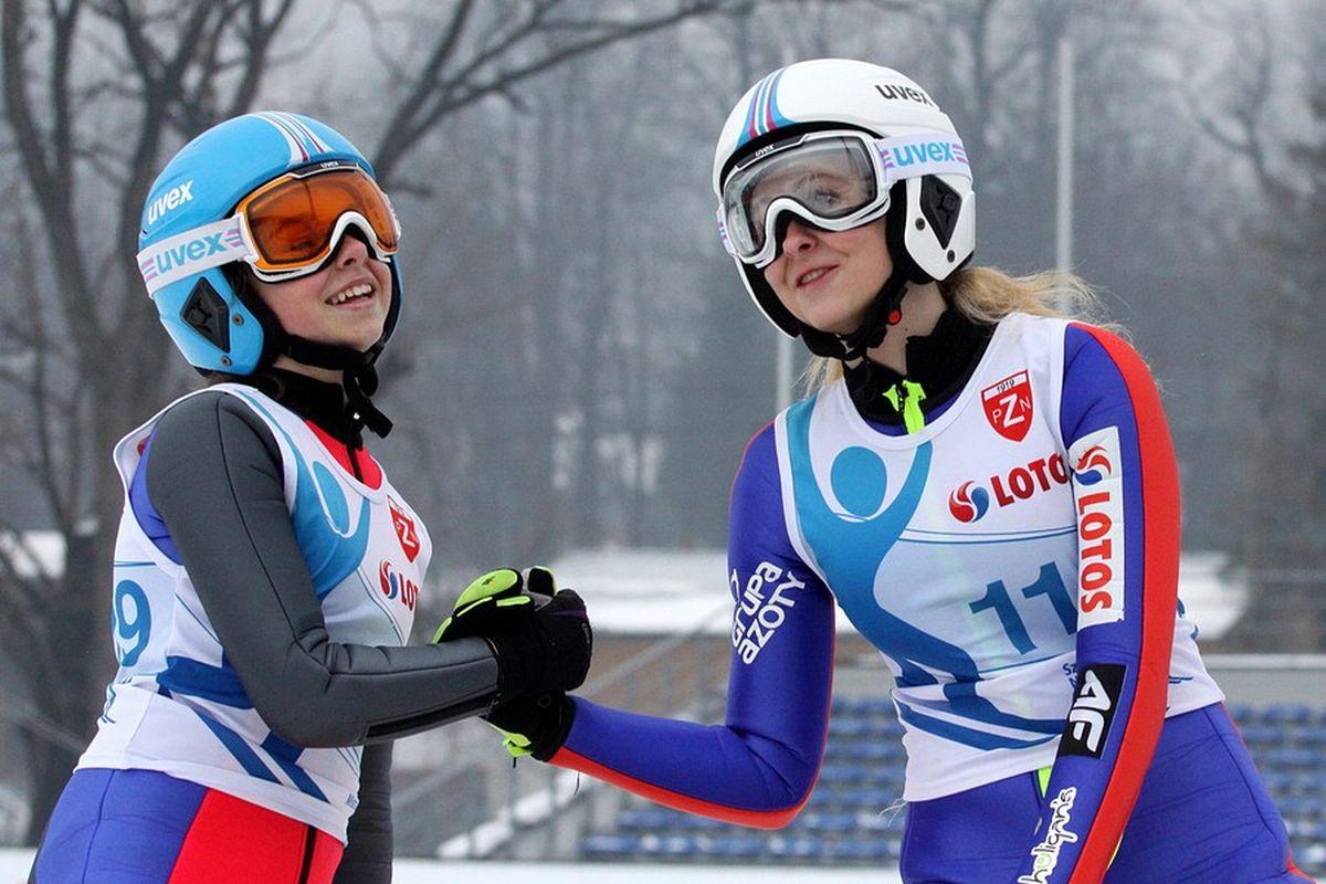Kamila Karpiel i Joanna Szwab (fot. Alicja Kosman / PZN)