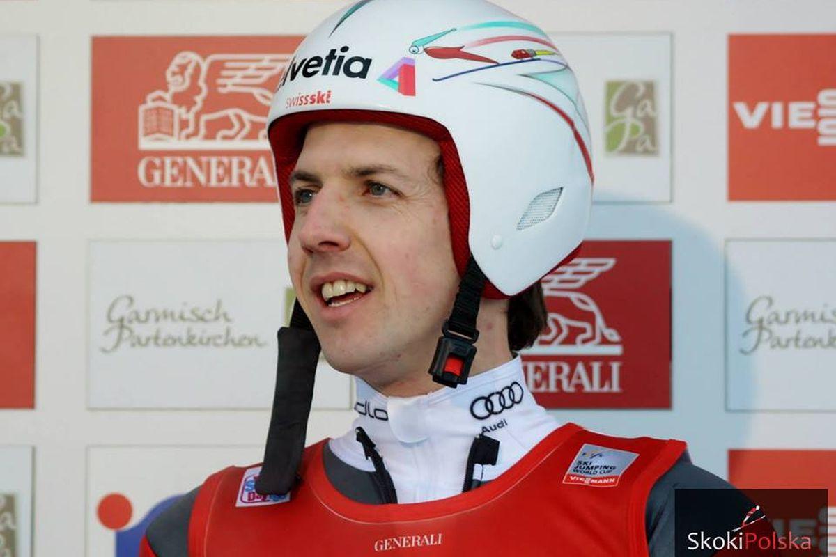 Simon Ammann 4Hills fot.Julia .Piatkowska 1200 - Szwajcarzy z czterokrotnym mistrzem olimpijskim pojawią się w Wiśle