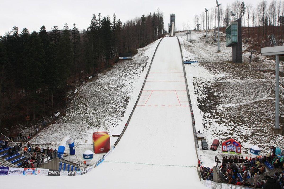 Skocznia w Wiśle (fot. Alicja Kosman / PZN)