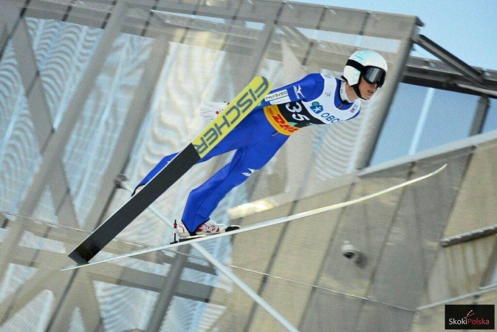 PŚ Ruka: J. Kobayashi najlepszy w serii próbnej, Żyła czwarty!