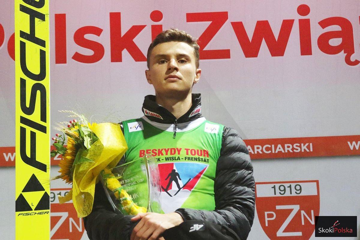 Klemens Murańka nowym liderem Beskydy Tour (fot. Julia Piątkowska)