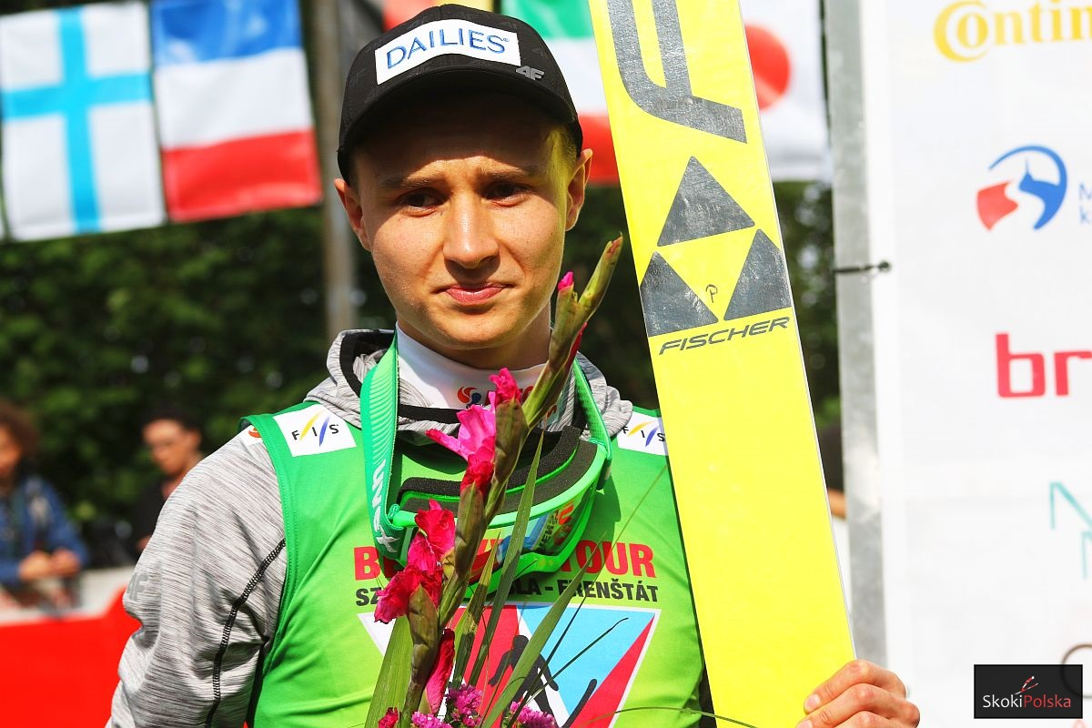 Klemens Murańka - zwycięzca Beskydy Tour 2017 (fot. Julia Piątkowska)
