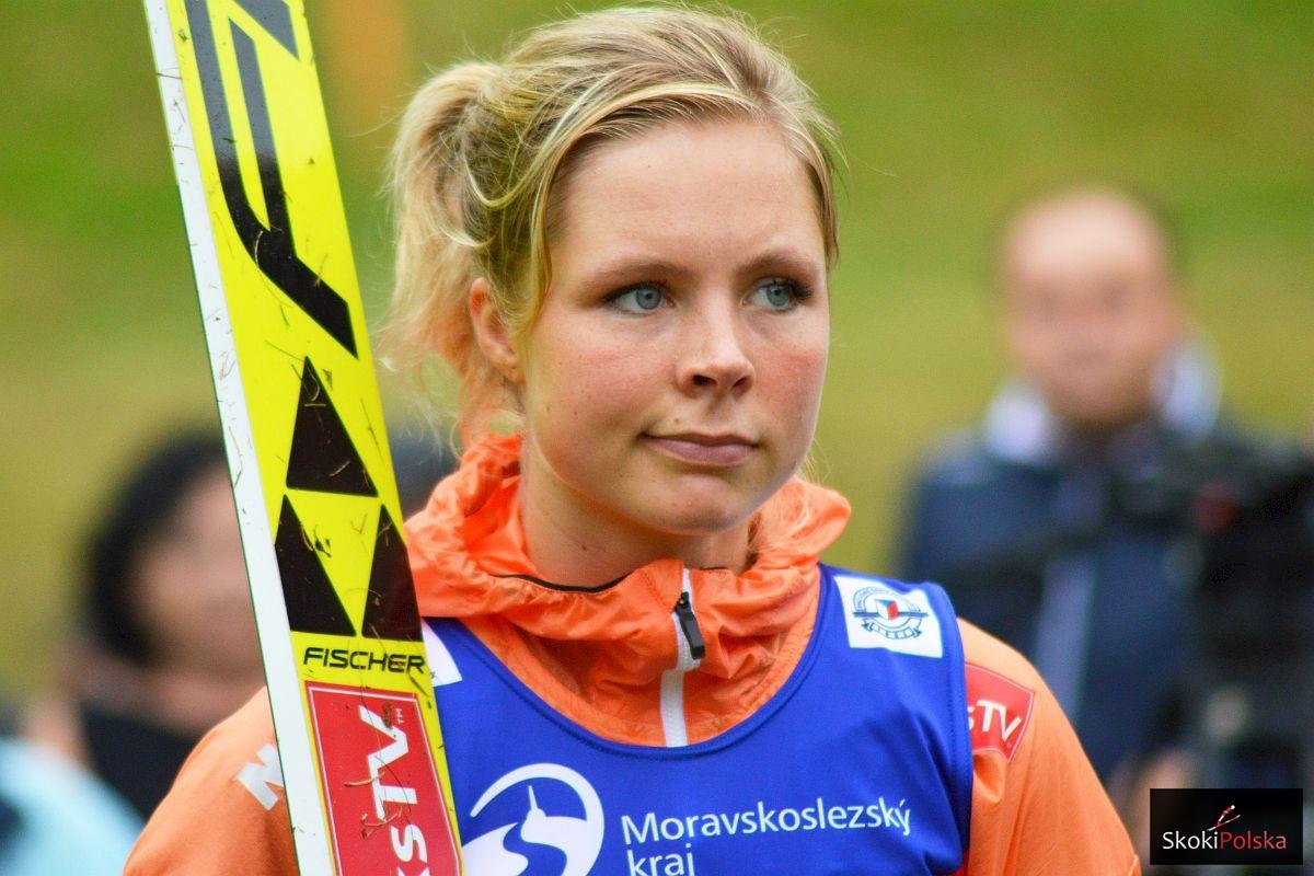 """Maren Lundby stała się symbolem """"walki"""" o loty narciarskie kobiet (fot. Bartosz Leja)"""