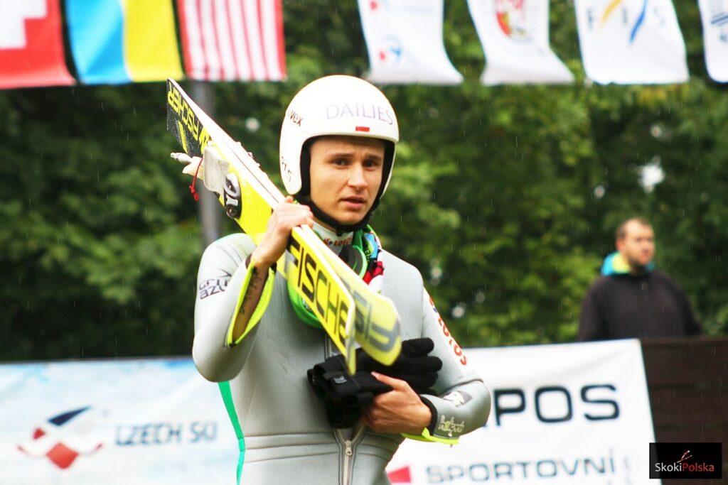 Beskydy Tour Frenstat: Murańka na czele treningu, Czyż tuż za nim!