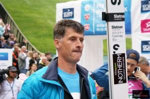 """Peter Slatnar fot.Wiktoria.Bak LGPWisla2017 300x199 - Peter Prevc na nartach Fischera, Slatnar: """"Świat się nie kończy"""""""