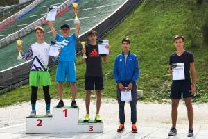 Podium konkursu mężczyzn (fot. Renata Nadarkiewicz)