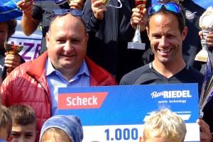Peter Riedel i Michael Gruber, fot. Mikołaj Szuszkiewicz