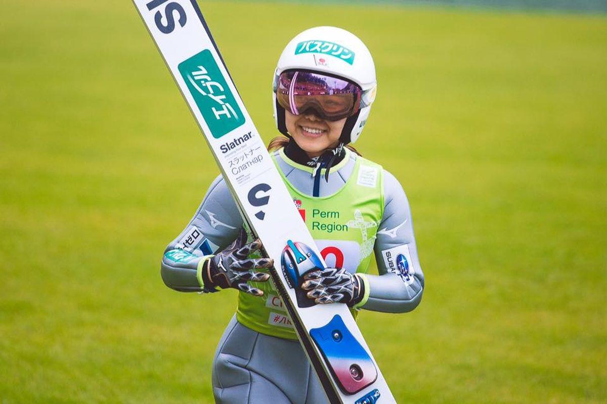 Sara Takanashi (fot. FIS Ski Jumping Chaikovsky)