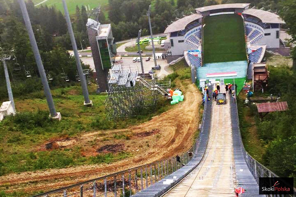 W Wiśle nowe tory, w Zakopanem zeskok – modernizacje trwają (FOTO)
