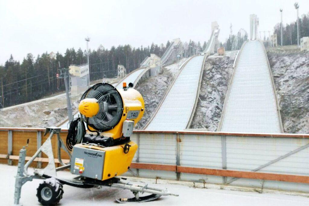 Śnieg w Niżnym Tagile, Rosjanie czekają na Puchar Świata!