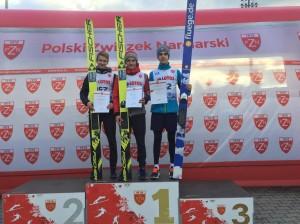 Puchar Prezesa PZN 2017 podium junior B