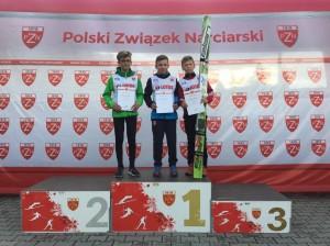 Podium juniorów D, fot. Julia Piątkowska
