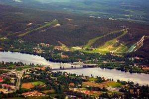 Widok na Rovaniemi (fot. Mikko Holck / CC BY-SA 3.0)