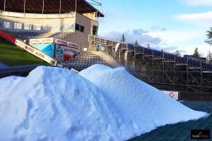 Produkcja śniegu na Malince, fot. Julia Piątkowska
