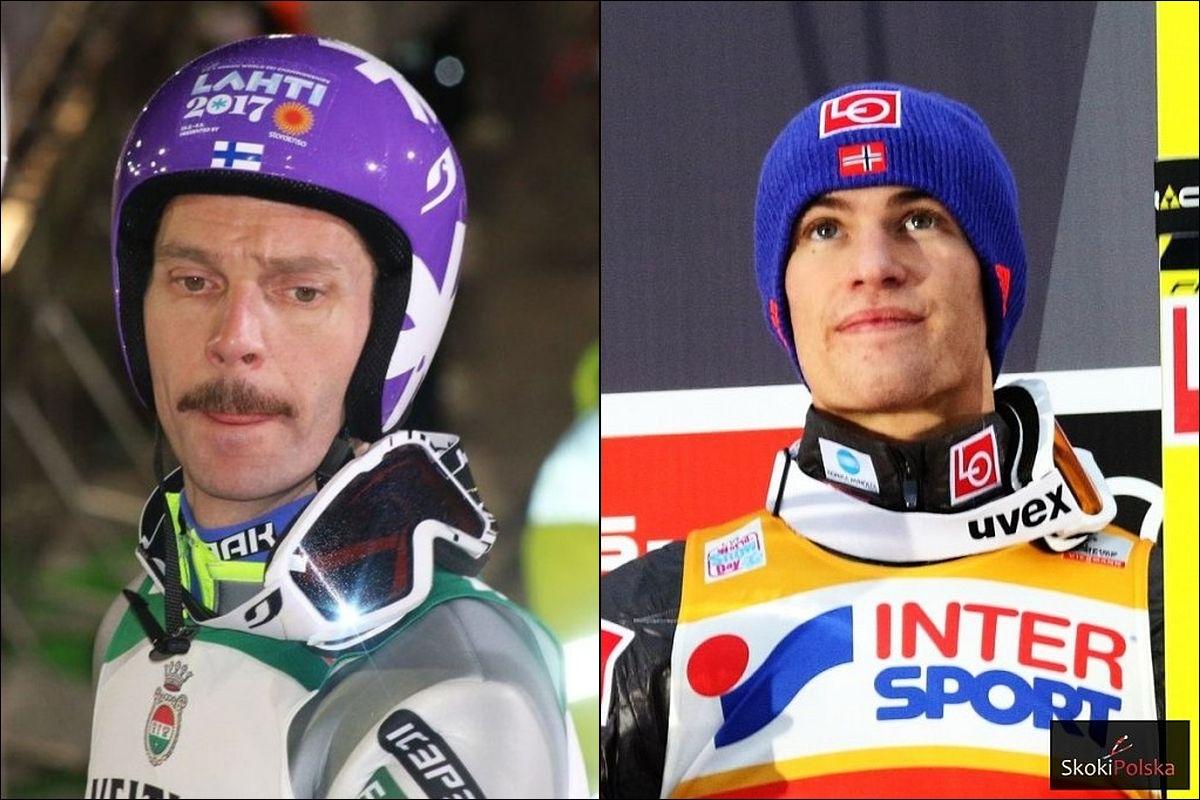 Norwegowie z Tande, Finowie z Ahonenem – składy krajów nordyckich na Wisłę