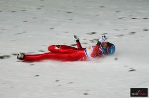 Upadek Denisa Kornilova (fot. Julia Piątkowska)