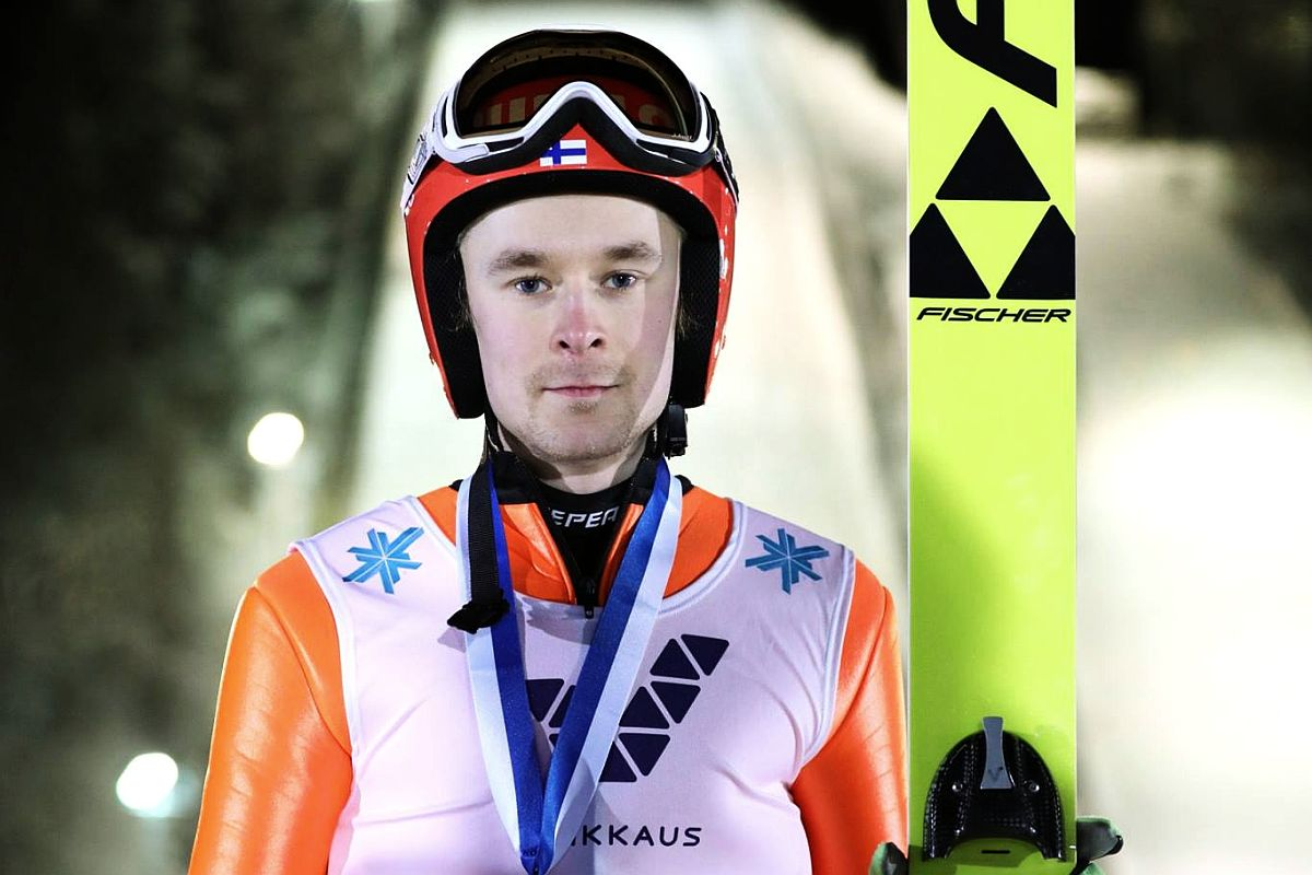 Jarkko Maeaettae (fot. facebook.com/OunasvaaranHiihtoseura)